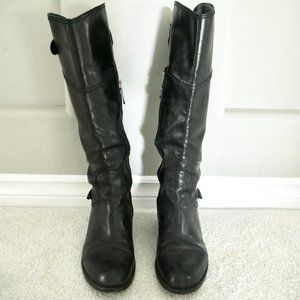 italian leather riding boots